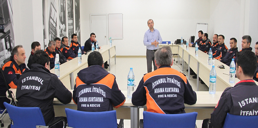 Otis Turkey Opens Its Manufacturing Plant to Fire Training Sessions